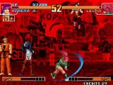The King of fighters Leona orochi defeated - SNK