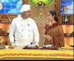 Abhiruchi - Recipes - Pudina Alu Capsicum, Badam Naan & Ragi pindi Bondalu - 01