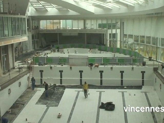Centre aquatique de Vincennes : visite guidée à quelques semaines de l'ouverture