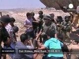 Palestinians protest against land confiscation - no comment