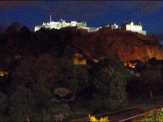 Edimbourg by night