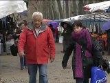 Lluvia y bajada de temperaturas en Girona