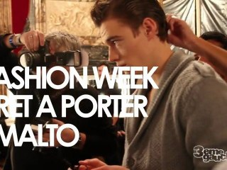 SMALTO backstage - Défilé Pret a Porter - Automne Hiver 2011 - Paris Fashion Week