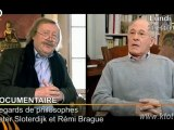 Peter Sloterdijk et Rémi Brague, regards de Philosophes