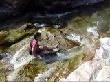 Balade aquatique du ruisseau de Sainte-Lucie (Haut-Cavu - Corse) le 12/06/2011