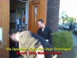 """De Opening"" : Vechtsport-School Kage Ryu Dojo in stad Groningen (Ninja, Ninjutsu)"