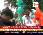Two Groups Creat Public Fight @ Sulthanabad, on Congres Flag Erection
