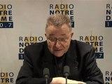 Entretien du Cardinal - Radio Notre Dame - 18/06/2011