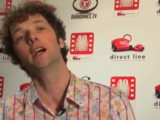 Chris Addison on Direct Line's 40 Seconds Straight film competition