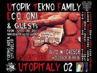 UTF  vs  ECOFONIK    utopitaly02