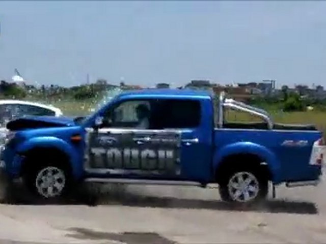 Ford Ranger vs Ford Fiesta Fail