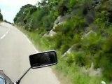 Promenade moto en corse