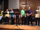 Moon River chanté par les Jazzpotes ensemble lyonnais de jazz vocal a cappella