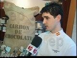 Pastelería crea carbón de chocolate ecológico