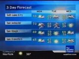 TWC Satellite Local Forecast from February 2008 Daytime #15