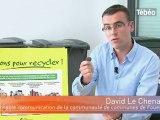 Des puces électroniques sur les poubelles de Fouesnant