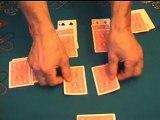 Tour de magie: Rouge et noir. C'est le spectateur qui devient magicien !