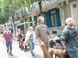 Manifestation internationale des indignés indignés Lille