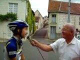 CHPT DPTAL Route Jeunes 2011 à La Guerche - Interview vainqueur Dames Minimes/Cadettes