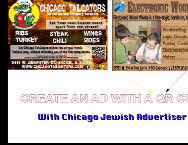 Chicago Jewish Advertiser video