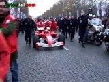 Michael Schumacher sème la zizanie dans Paris