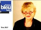 Primaires de l'écologie : Eva Joly au micro de France Bleu Isère