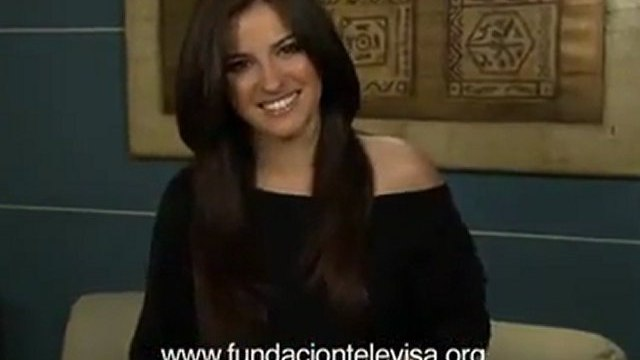 Maite Perroni, Triunfo del Amor y Fundación Televisa te dicen: ¡GRACIAS!