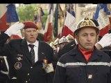 Cérémonie d'hommage national aux sapeurs-pompiers de France