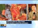 Procès de Galliano jugé pour injures antisémites