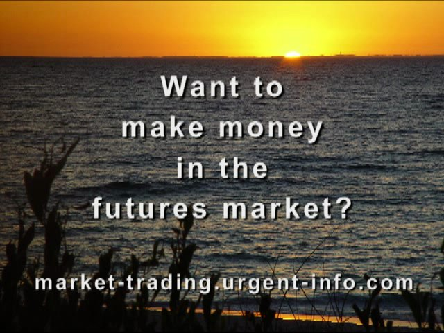 How to day trade the futures market
