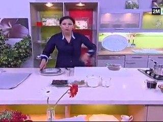 entremet choumicha au chocolat recette cuisine facile rapide pas cher - Les amours imaginaires : un «entremets» savoureux
