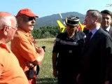 Claude GUÉANT lance à Aix-en-Provence la campagne 2011 de lutte contre les feux de forêts