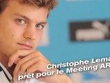 Christophe Lemaitre prêt pour le MEETING AREVA
