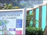 Lancement du chantier de démolition de l'Hôpital de Chambéry