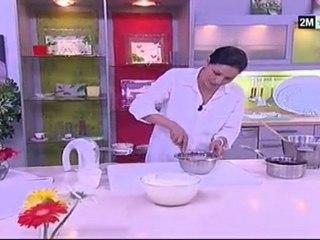 choumicha recette de cuisine Verrines de fraises et chantilly au chocolat blanc choumicha recette de cuisine