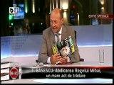 """Basescu: Maresalul Antonescu nu este mai """"criminal de razboi"""" decat Regele Mihai"""
