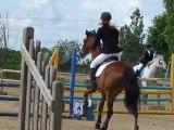 Mathilde et Ramsès - CSO Grand Prix Club 2 - 19/06/2011 - Poney Club de Villedieu