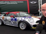 On the MINI John Cooper Works Coupé Endurance and the expectations for the race