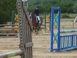 Ophélie et Quoccinelle - CSO Grand Prix Club 2 - 19/06/2011 - Poney Club de Villedieu