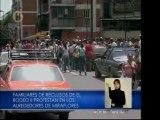 """Familiares de presos del Rodeo II: """"Les están quitando el derecho a la vida"""""""