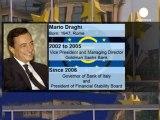 Mario Draghi entronizado como nuevo presidente del BCE