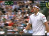 [HD] Rafael Nadal vs Gilles Muller SET2-SET3 R3 WIMBLEDON 2011 [Highlighs by Courtyman]