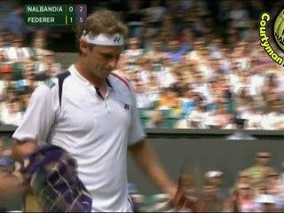 [HD] Roger Federer vs David Nalbandian WIMBLEDON 2011 [Highlighs by Courtyman] SPOT