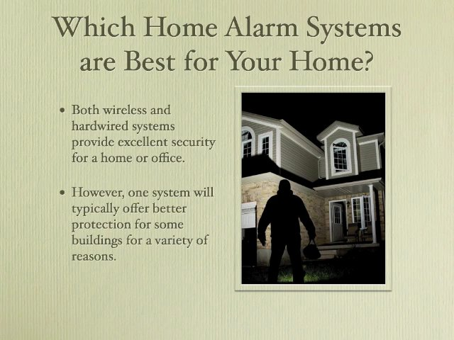 Home Alarm Systems Are Not Created Equal