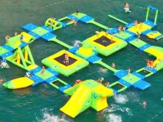 Wibit sports transforme plages et piscine en attraction aquatique