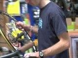 Le métier de vendeurs d'accessoires cycles