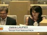 """Région PACA 24/06/2011 - Valérie LAUPIES (FN) - Projet """"Prêt - Partez"""""""