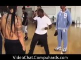 The BET Awards 2011, Kevin Hart Gives Chris Brown a Dance Lesson For The BET Awards