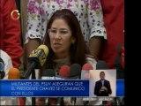 Chávez llamó al PSUV