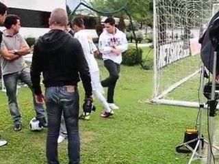 Making Off com Neymar